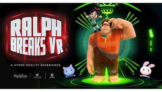 Ralph Breaks VR opens November 21 at Disney Springs in The VOID