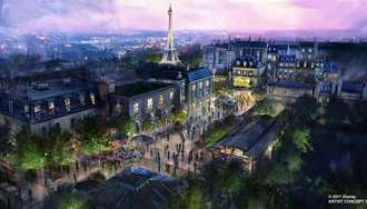 Remy's Ratatouille Adventure is the name of the new ride coming to Epcot's France Pavilion