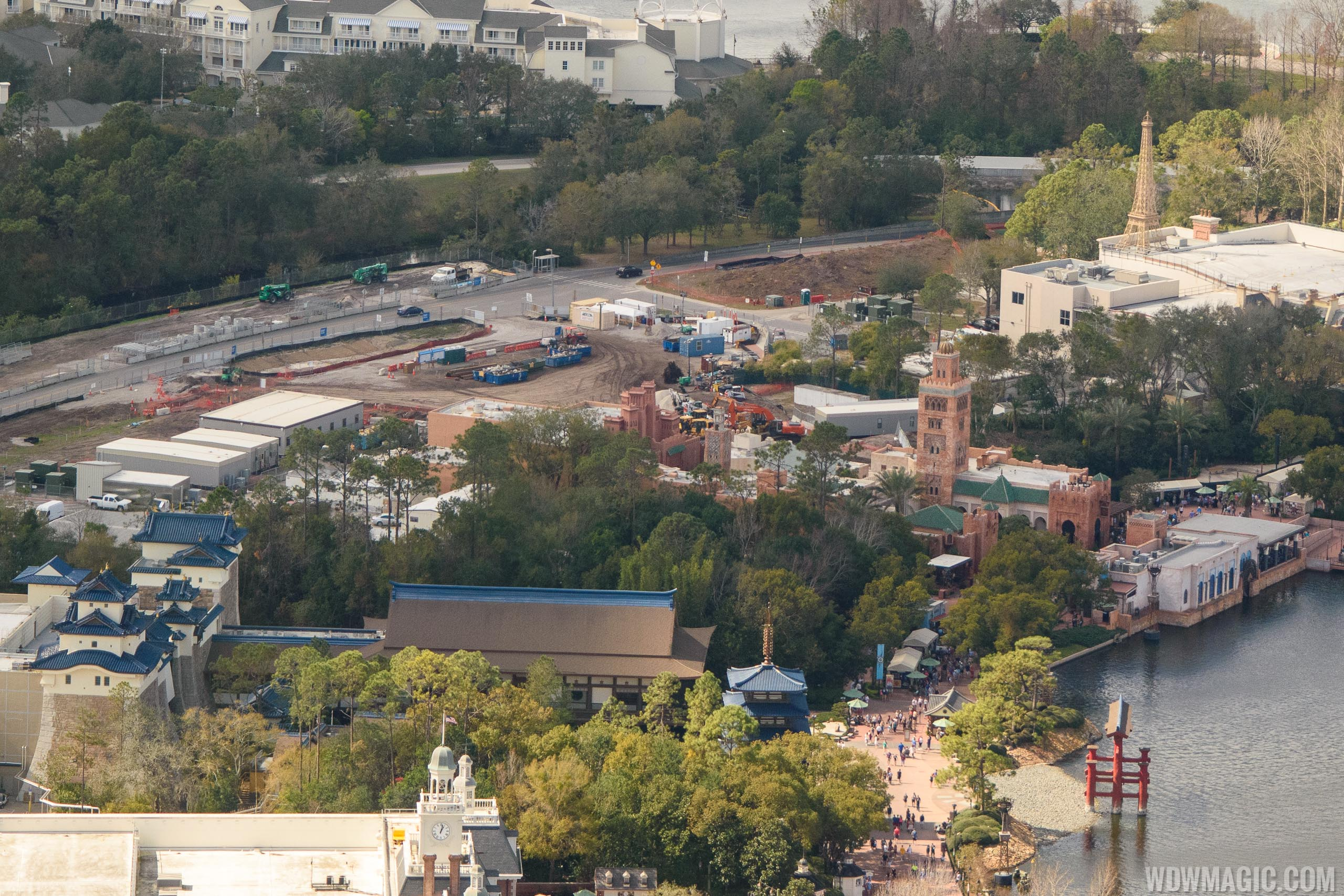 Ratatouille aerial construction pictures - February 2018