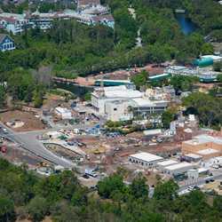 Ratatouille aerial construction pictures - March 2018