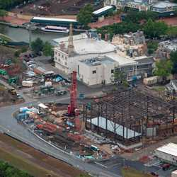 Ratatouille aerial construction pictures - May 2018