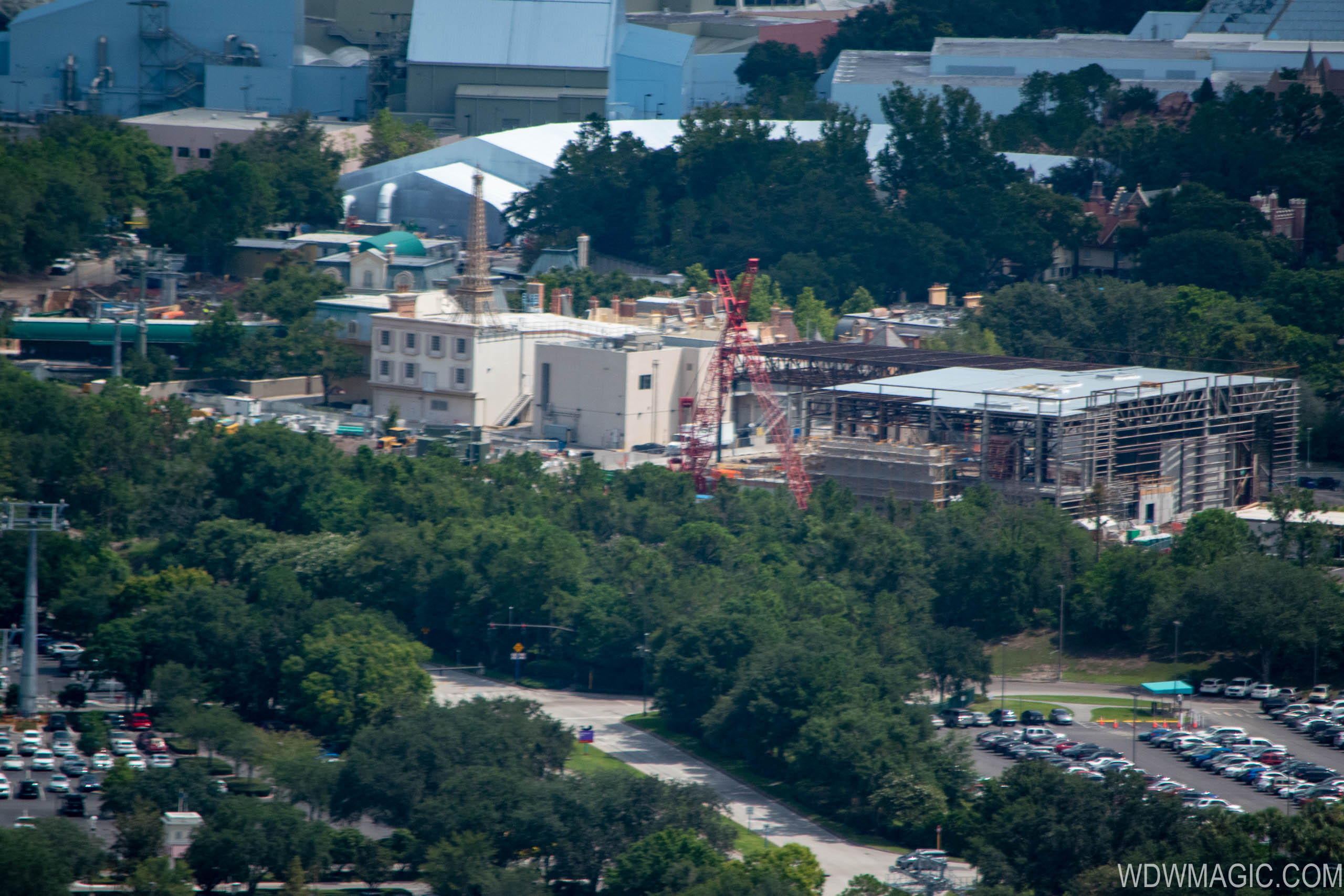 Ratatouille aerial construction pictures - July 2018