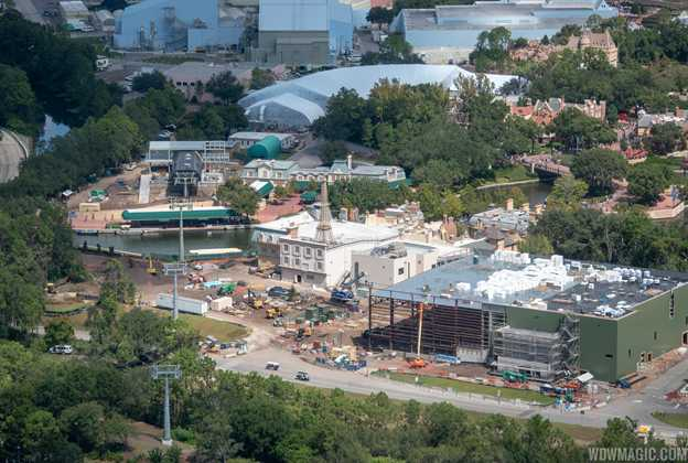 Ratatouille aerial construction pictures - September 2018