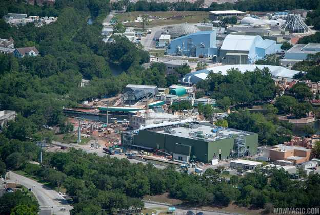 Remy's Ratatouille Adventure construction - May 2019