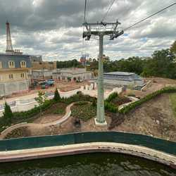 Remy's Ratatouille Adventure construction - September 2019