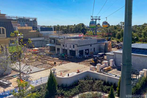Remy's Ratatouille Adventure construction - December 2019