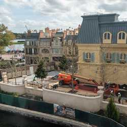 Remy's Ratatouille Adventure construction - February 2020