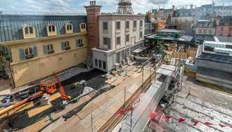 PHOTOS - A look at Remy's Ratatouille Adventure construction in Epcot