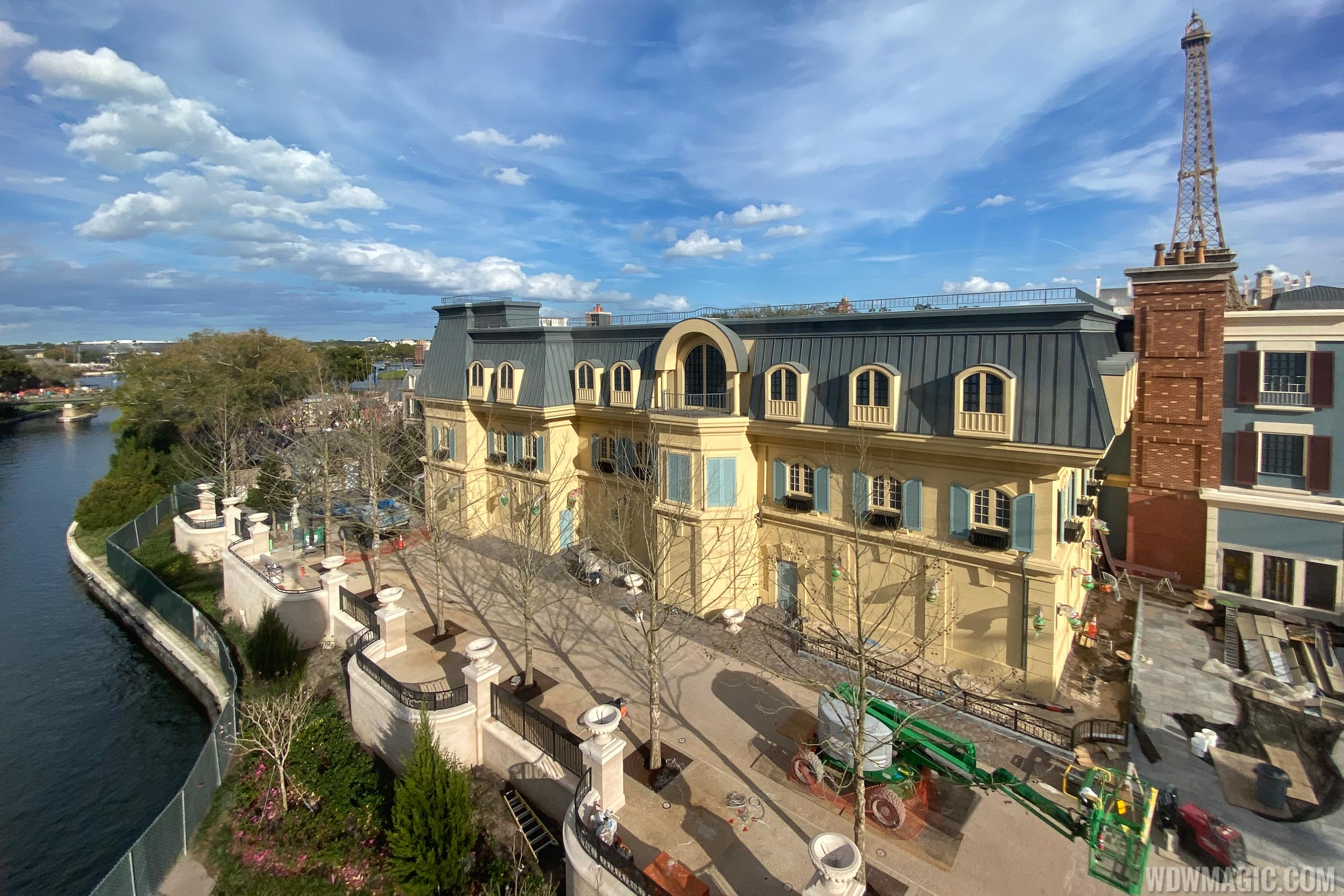 Remy's Ratatouille Adventure construction - February 23 2020