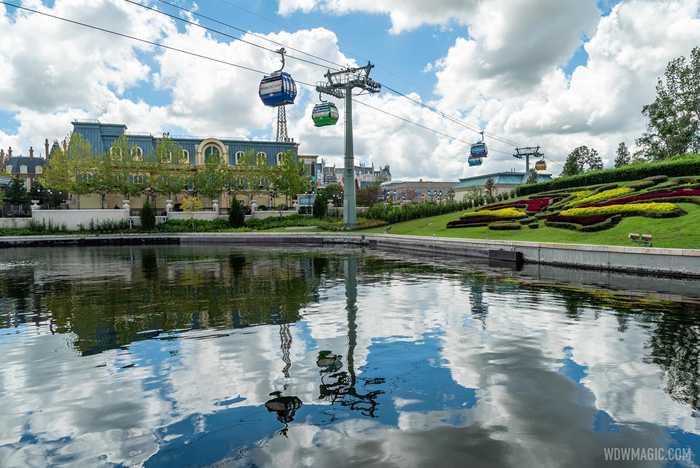 Remy's Ratatouille Adventure construction - September 8 2020