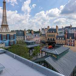Remy's Ratatouille Adventure construction - October 14 2020