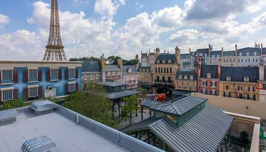 PHOTOS - Remy's Ratatouille Adventure construction at EPCOT