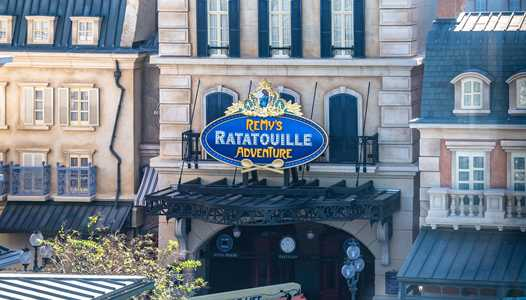 PHOTOS - Marquee sign installed at Remy's Ratatouille Adventure