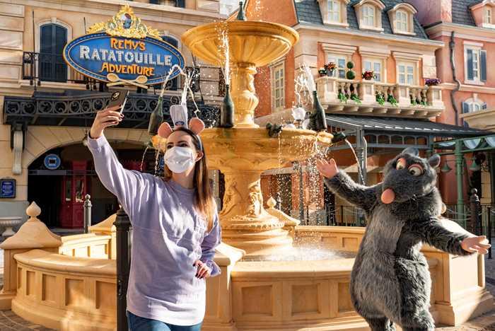Emily Jacobsen sneak peek of Remy's Ratatouille Adventure