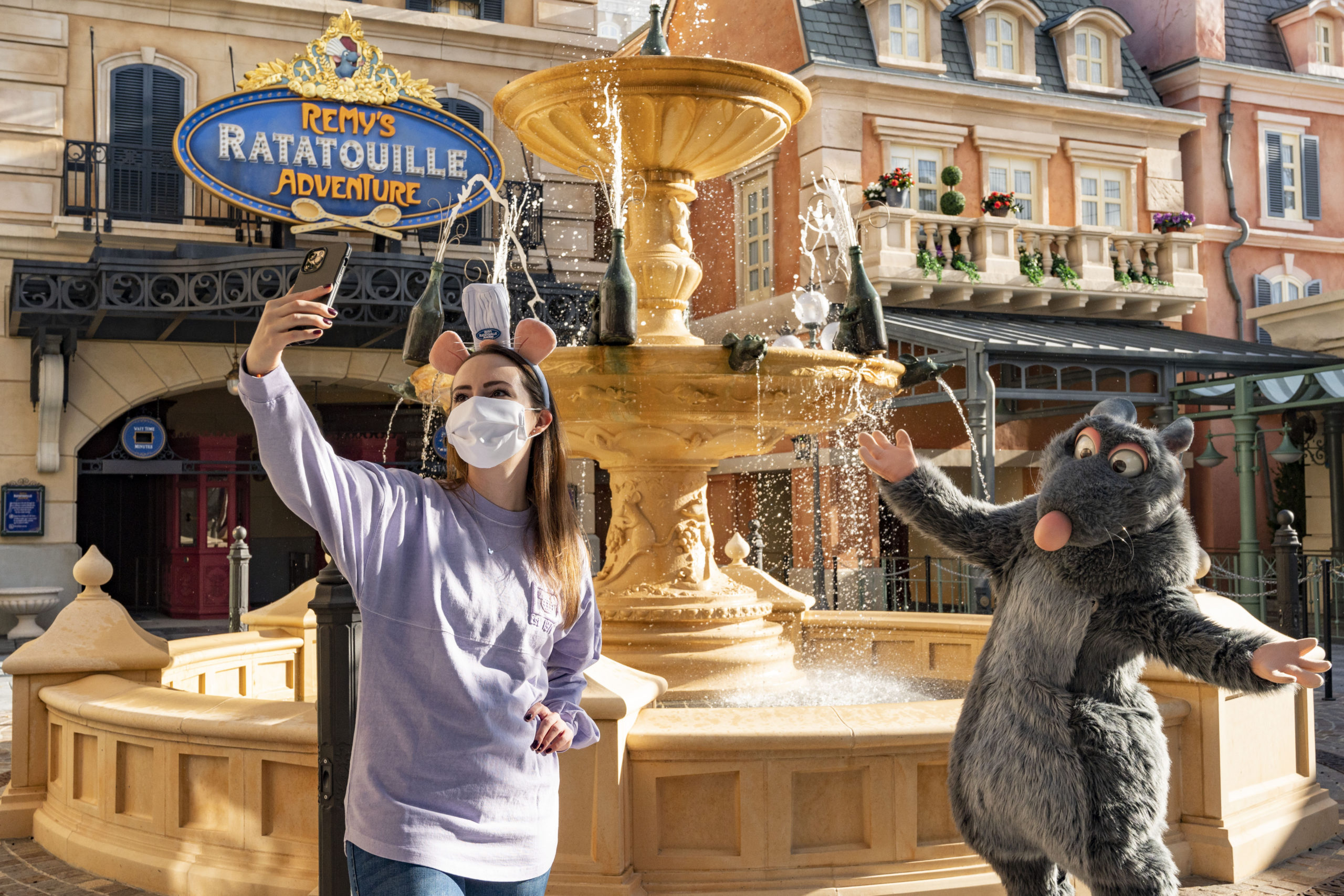 Emily Jacobsen sneak peek of Remy's Ratatouille Adventure