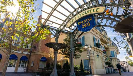PHOTOS - First phase of the Ratatouille expansion opens at the France pavilion