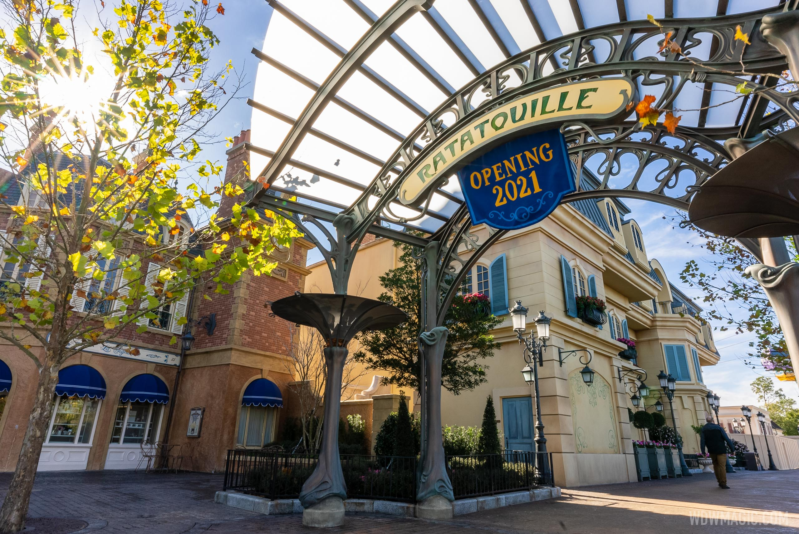 An opening date for Remy's Ratatouille Adventure was not given today