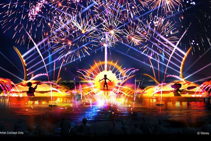 Epcot 2020 nighttime show concept art