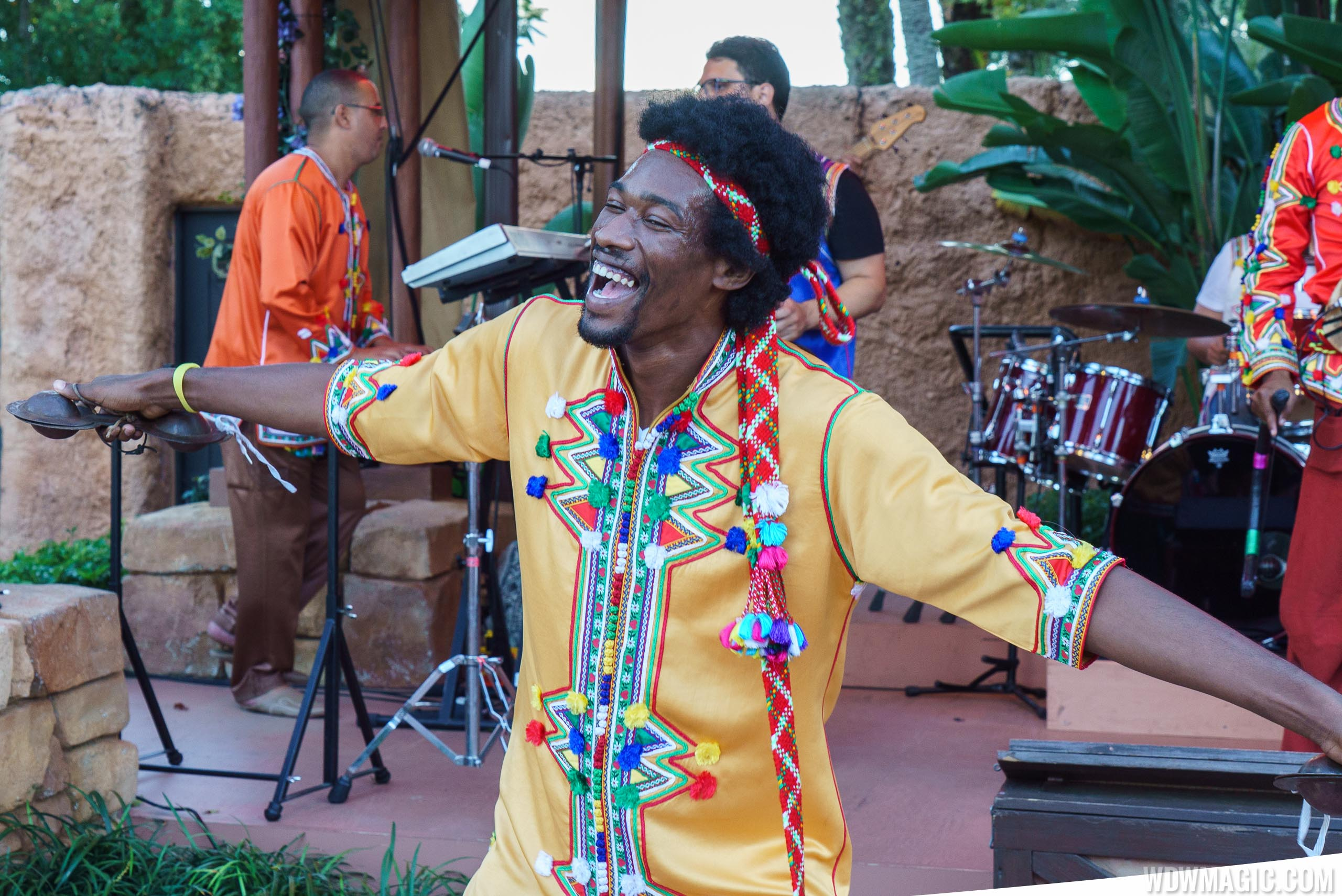 Ribab Fusion perform at Epcot's Morocco Pavilion