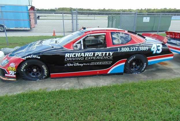 Retired Richard Petty Driving Experience Nascar