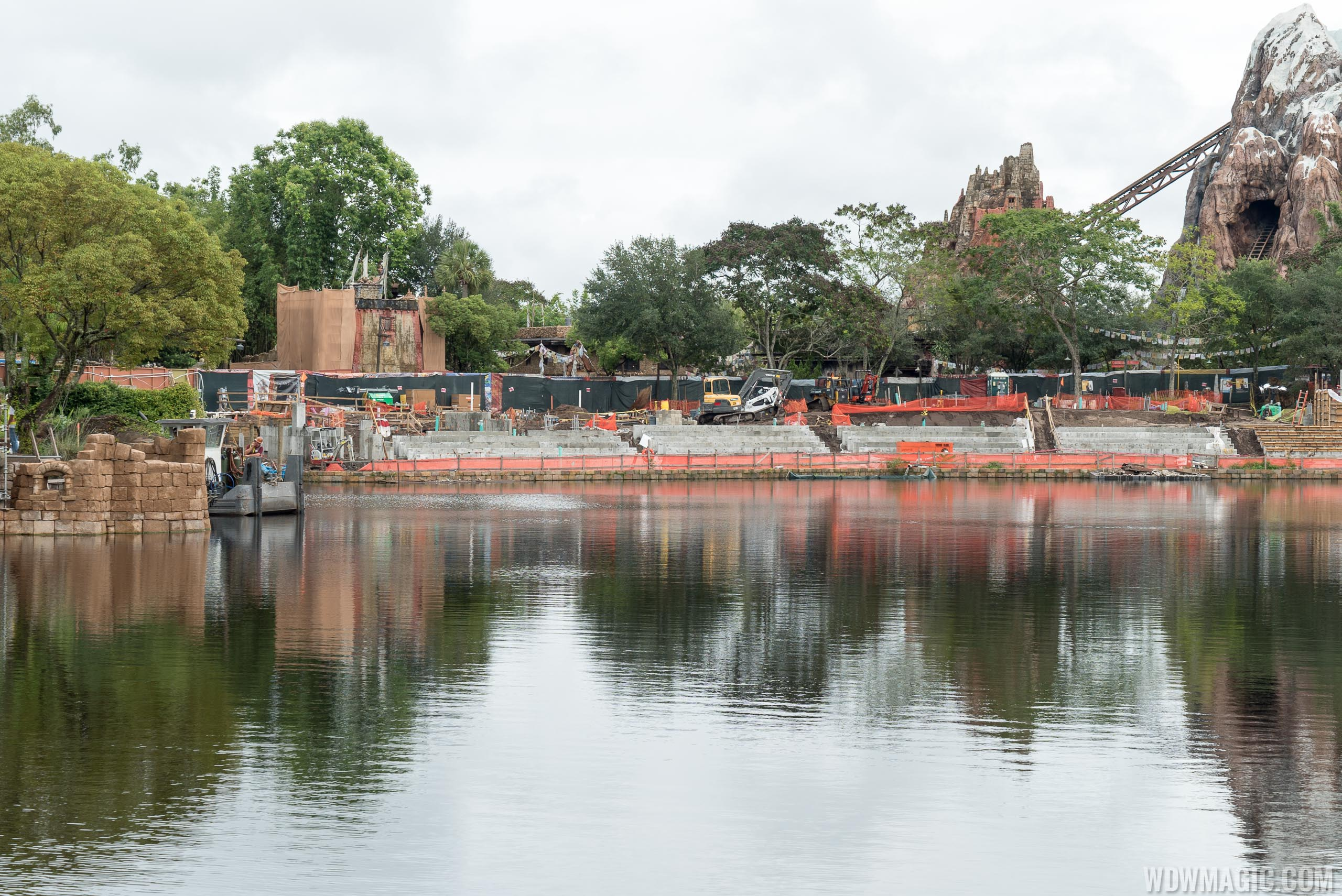 Rivers of Light construction