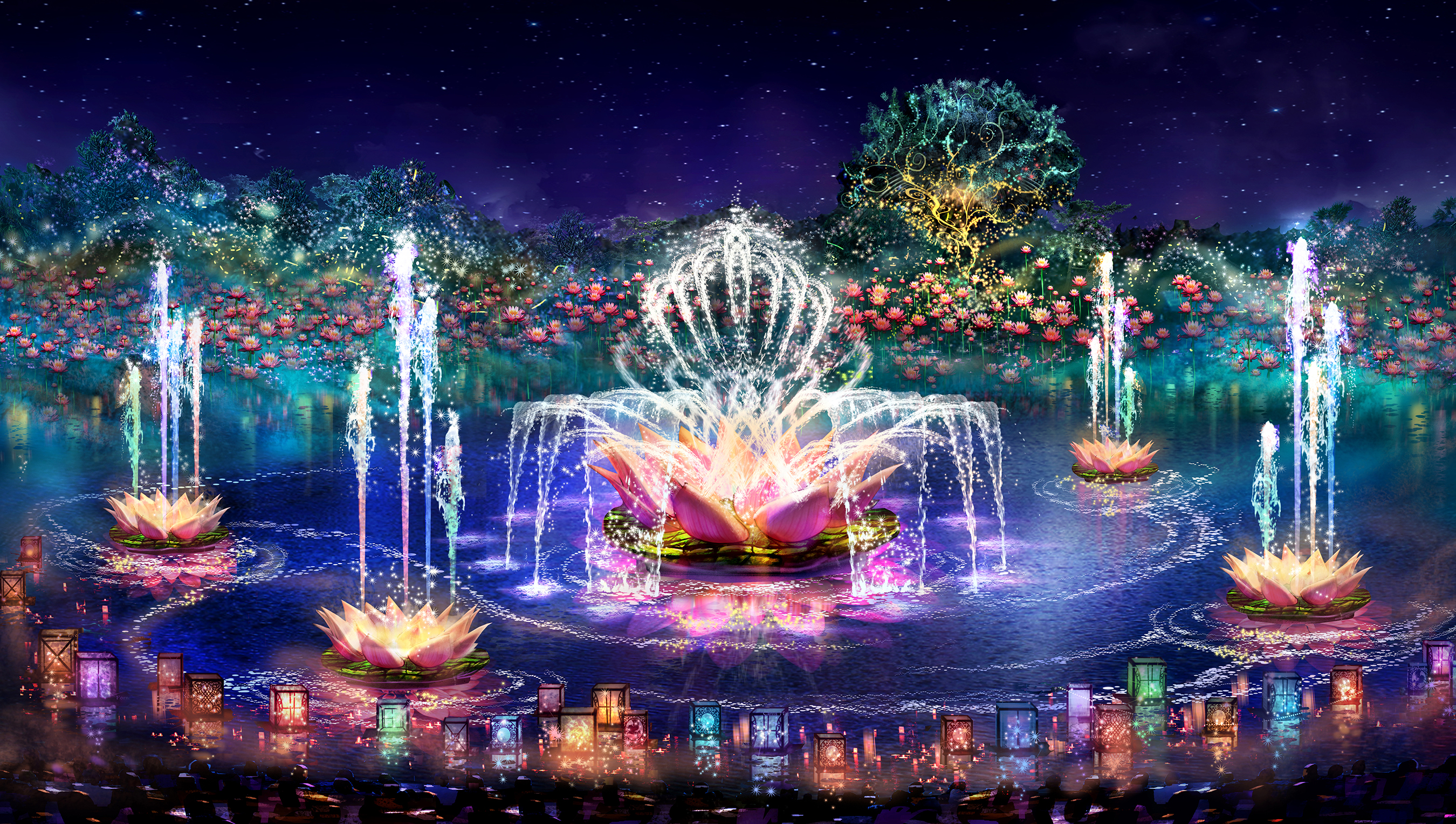 Rivers Of Light Concept Art Photo Of - Rivers of