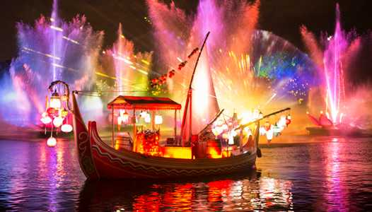 Rivers of Light performance times now available through June 2017