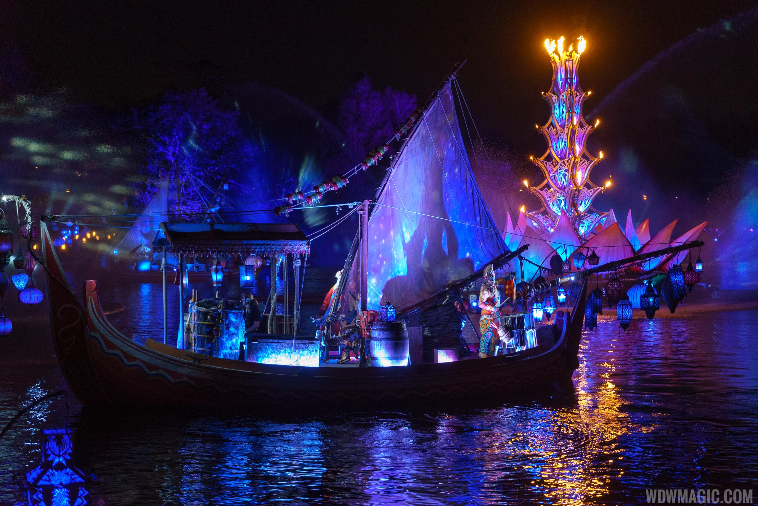 Rivers of Light is one of the new attractions at Walt Disney World