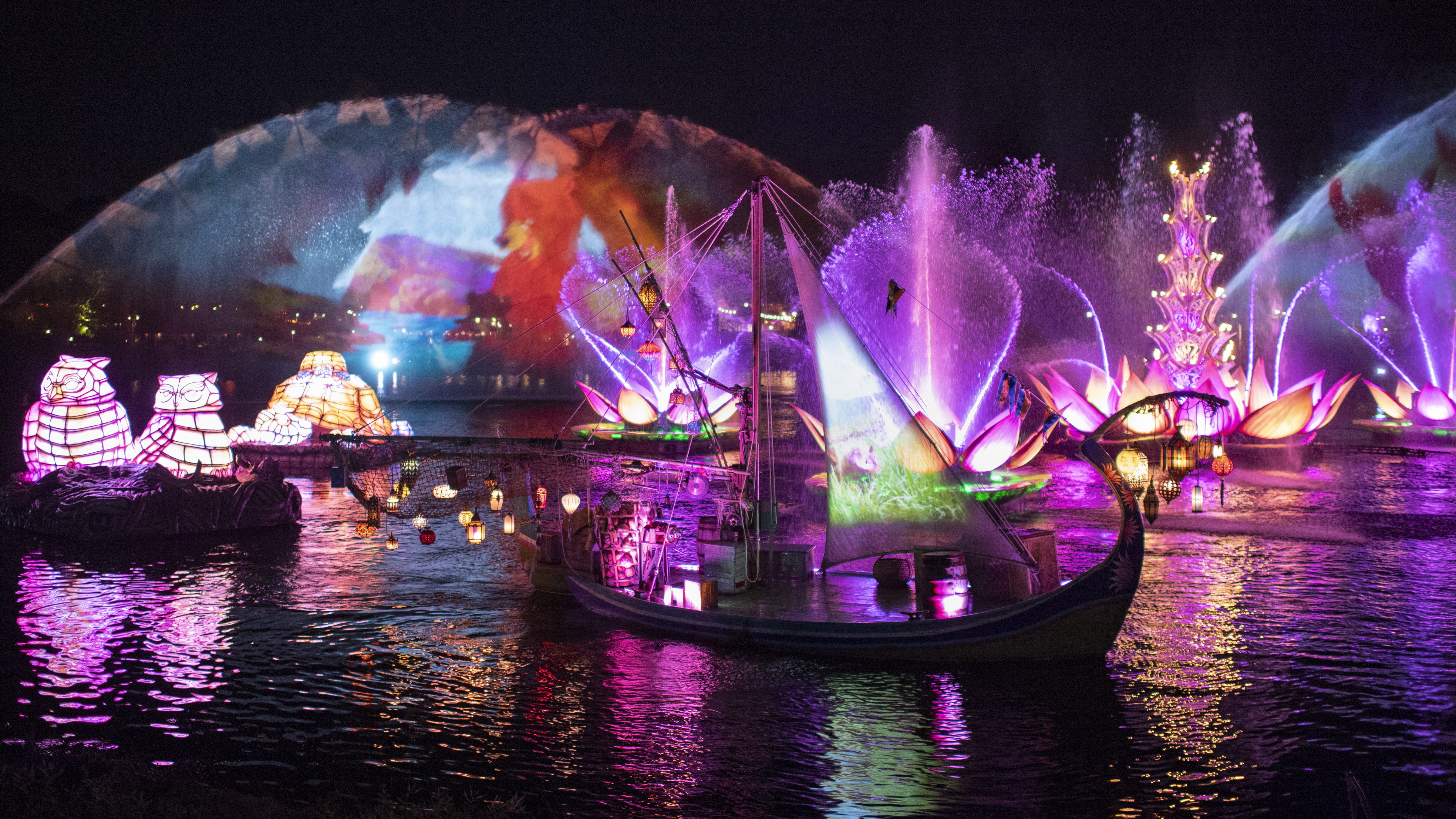 Rivers of Light We Are One show