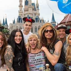 Aerosmith's Steven Tyler at Walt Disney World 2016