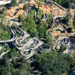 Runoff Rapids refurbishment