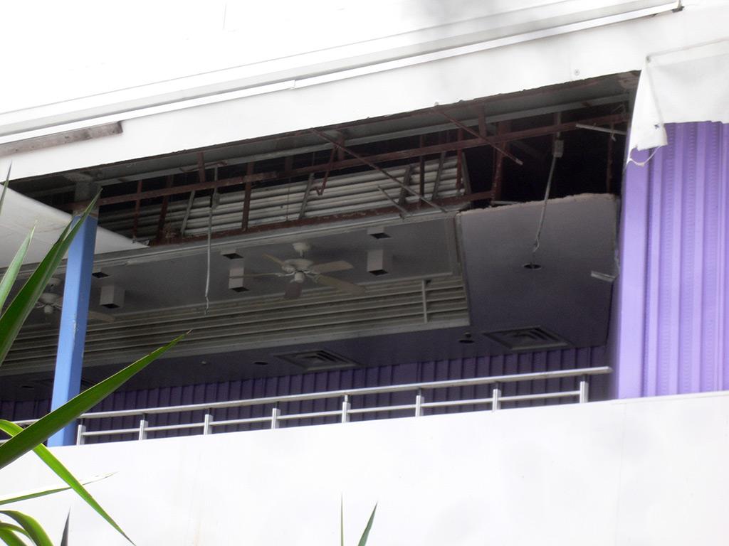 Tomorrowland Skyway Station refurbishment