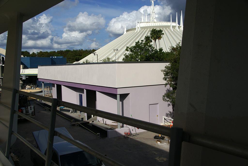 Former Tomorrowland Skyway Station rebuilding