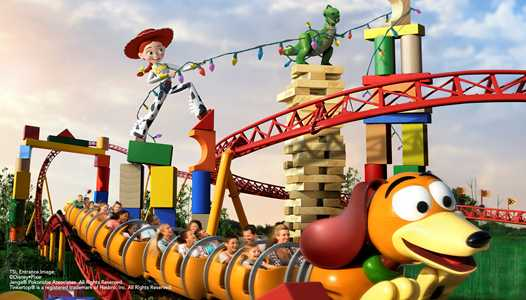 Slinky Dog Dash to feature on-ride photo via MagicBand