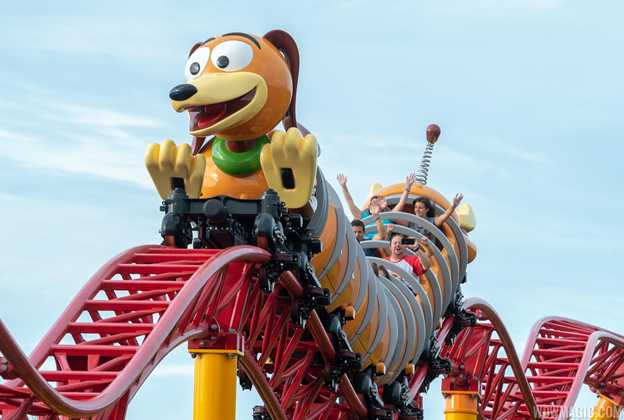 Slinky Dog Dash ride vehicle