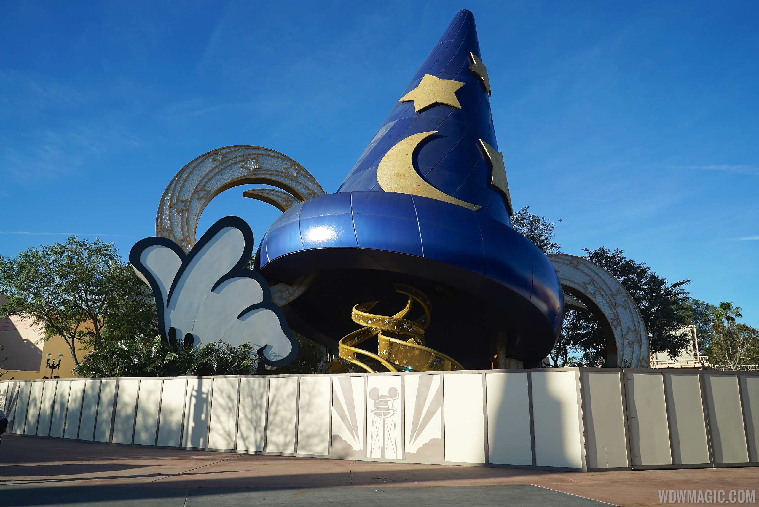 Sorcerer Mickey Hat walled off