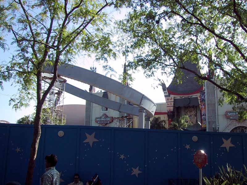 The Hat under construction in early 2001