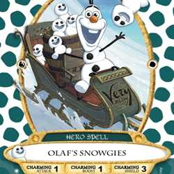 Olaf's Snowgies Sorcerers of the Magic Kingdom card
