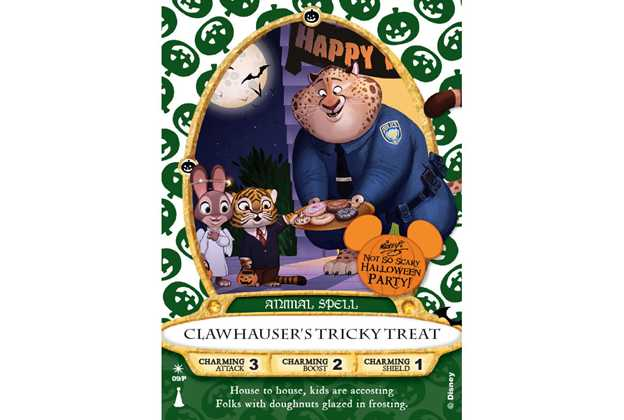 'Clawhauser' Sorcerers of the Magic Kingdom Card