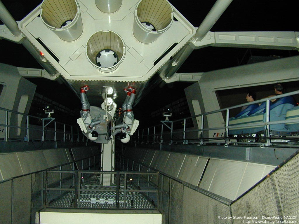 Interior track photos