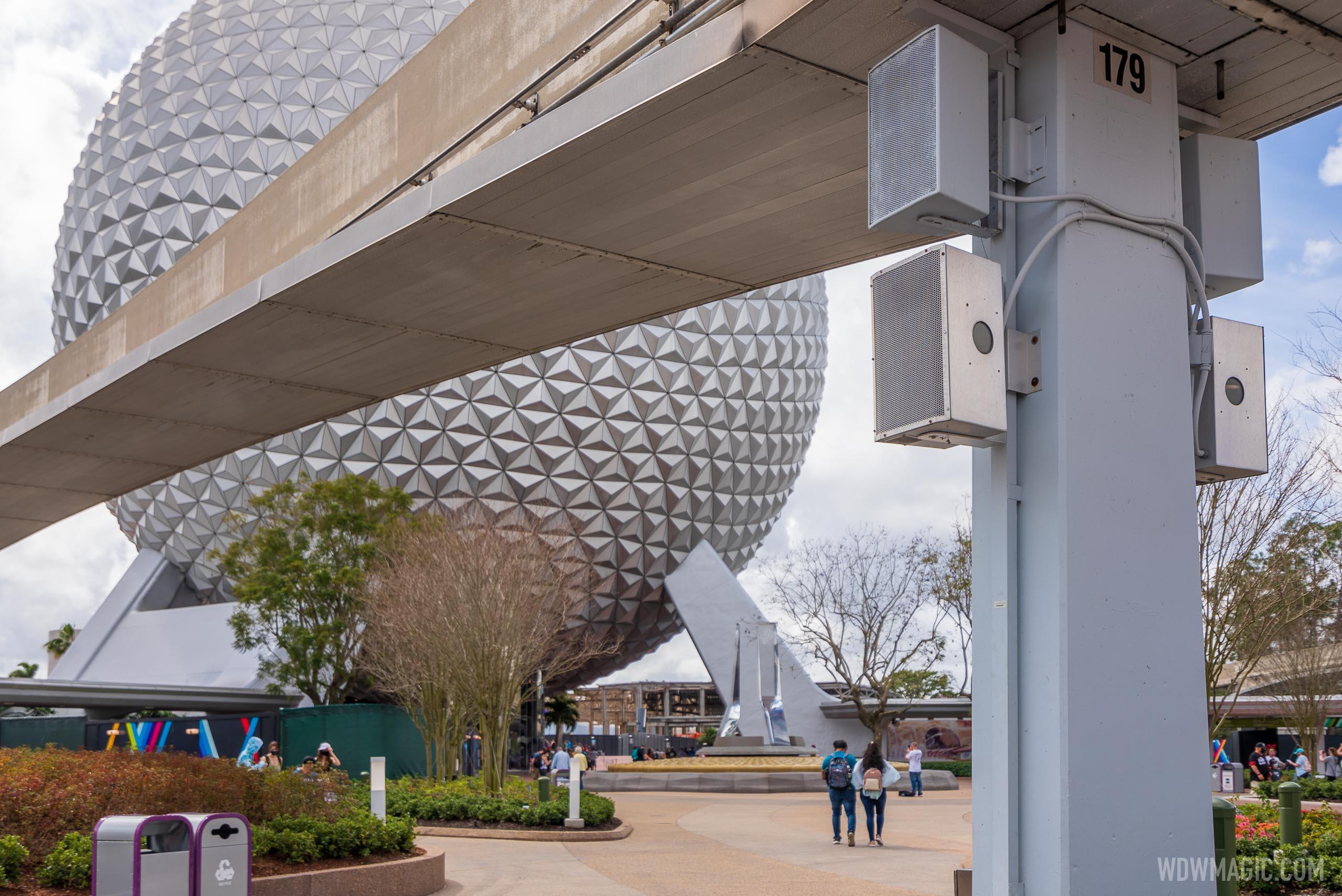 New speakers around Spaceship Earth
