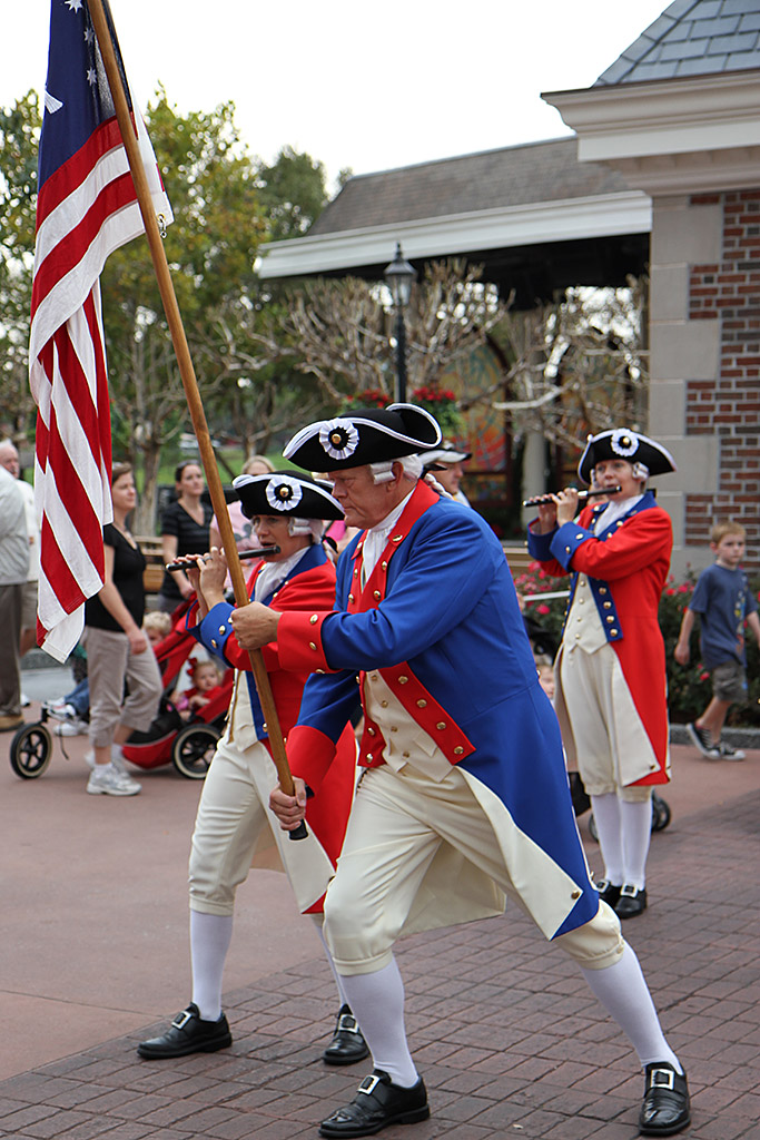 Spirit of America Fife and Drum Corps performance