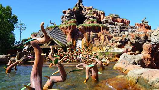 Splash Mountain changes its splash