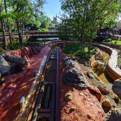 Splash Mountain nearing end of 2017 refurbishment