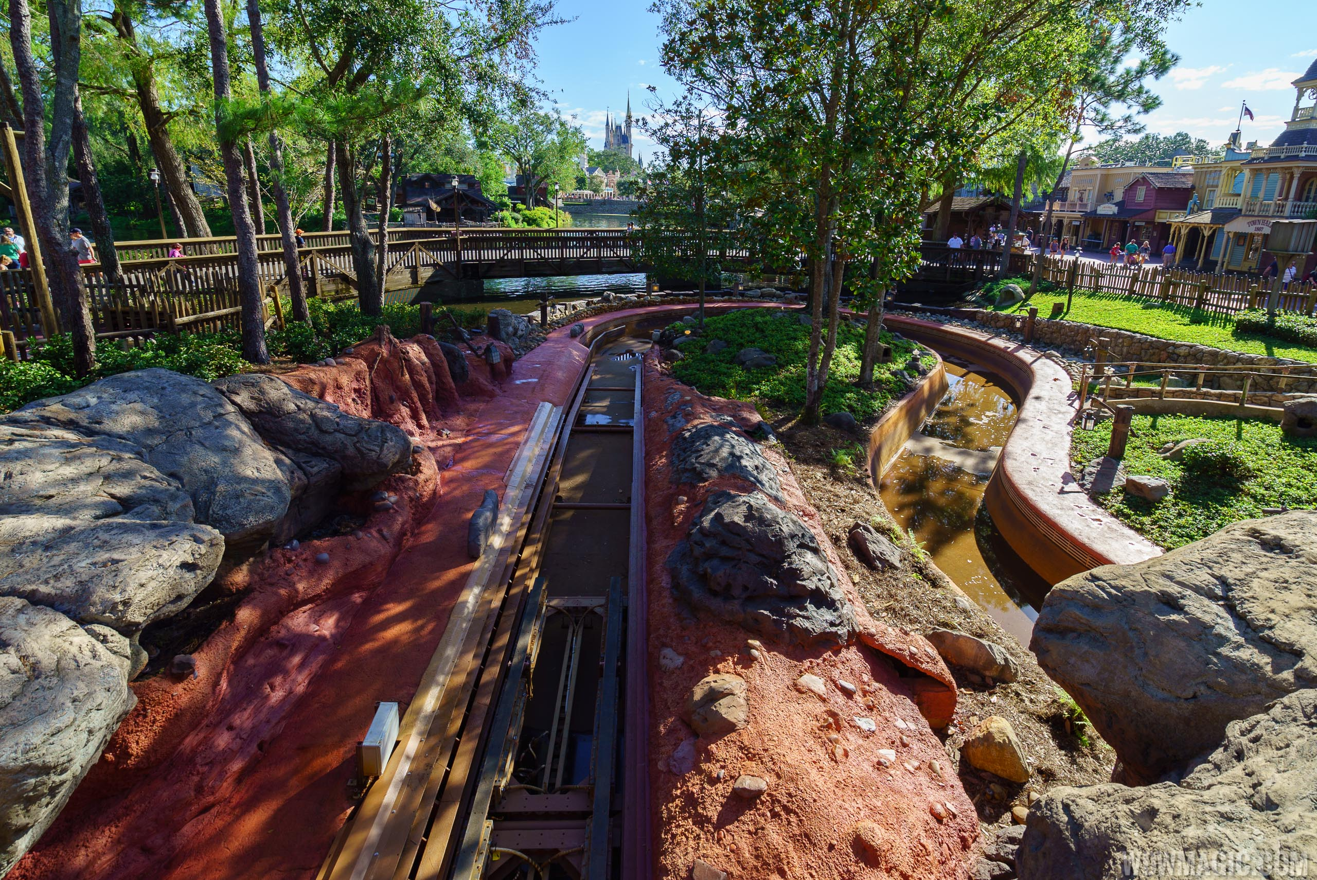 Splash Mountain is nearing the end of its 2017 refurbishment