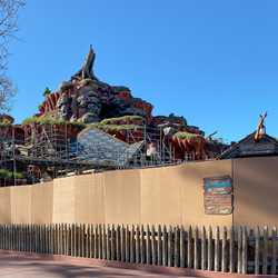 Splash Mountain February 2020 refurbishment