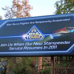 Star Tours II coming soon poster