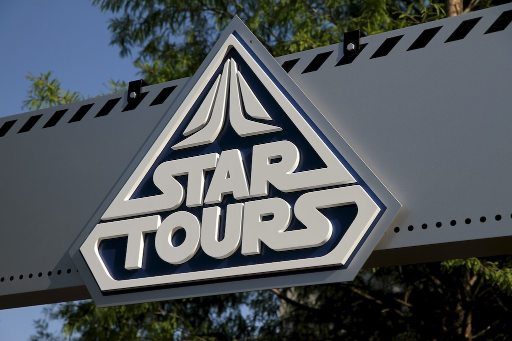 Walls down at Star Tours