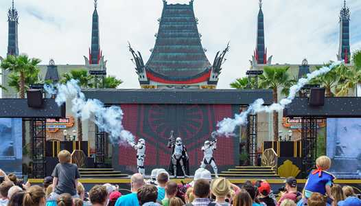 New route for March of the First Order at Disney's Hollywood Studios