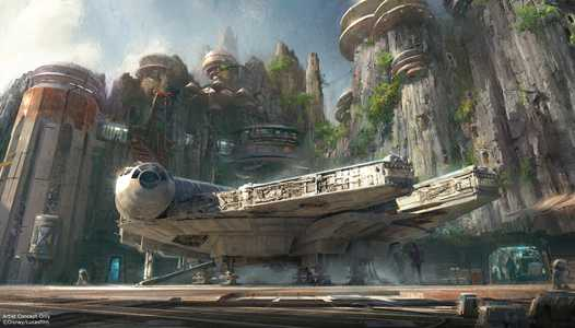Disneyland Star War's Galaxy's Edge dedication ceremony to be live streamed